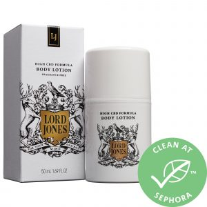 Lord Jones High CBD Formula Body Lotion Fragrance Free 1.69 oz/ 50 mL