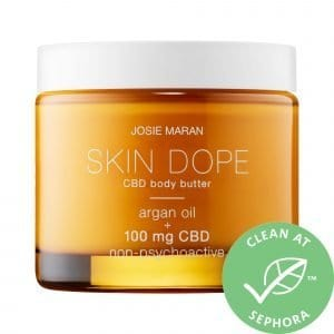 Josie Maran Skin Dope 100mg CBD Body Butter 3.5 oz/ 100 g