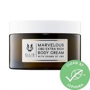 Ellis Brooklyn Marvelous CBD Extra Rich Body Lotion Cream 6.52 oz/ 185 g