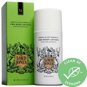 Lord Jones High CBD Formula Body Lotion Signature Fragrance 3.38 oz/ 100 mL