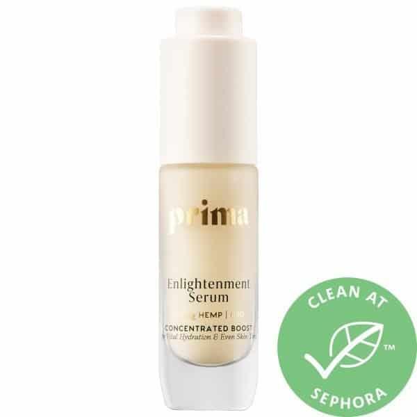 Prima Enlightenment Serum with Niacinamide + 100mg CBD 0.35 oz/ 10 mL