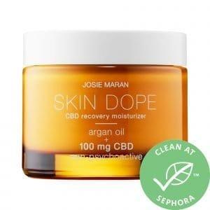 Josie Maran Skin Dope 100mg CBD Recovery Face Moisturizer 1.7 oz/ 50 mL