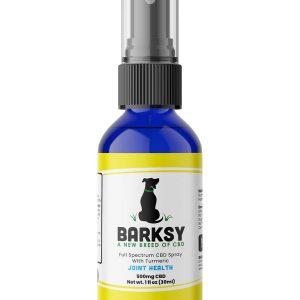 Barksy CBD Joint Health – 500mg Pet Spray With Turmeric