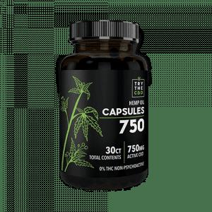 30ct CBD Capsules THC FREE