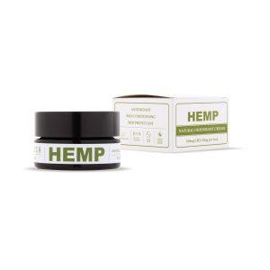 Natural deodorant with 10MG CBD/ML