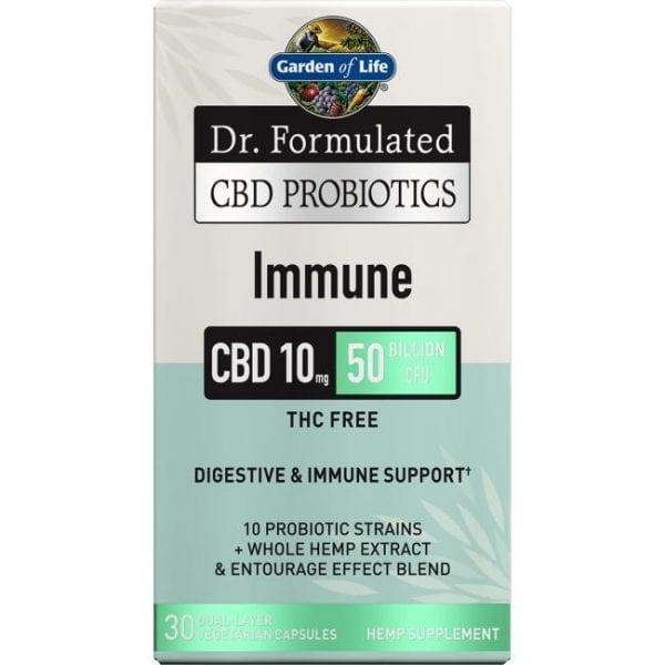 Garden of Life Dr. Formulated Cbd Probiotics Immune 10 mg 30 Veg Caps