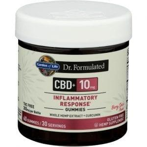 Garden of Life Dr. Formulated Cbd - Berry Spice 10 mg 60 Gummies