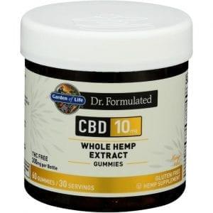 Garden of Life Dr. Formulated Cbd - Mango 10 mg 60 Gummies