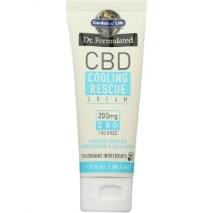 Garden of Life Dr. Formulated Cbd Cooling 200 mg 1.3 oz Cream
