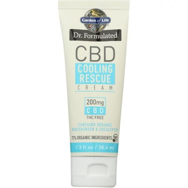 Garden of Life Dr. Formulated Cbd Cooling 200 mg 1.3 oz Cream