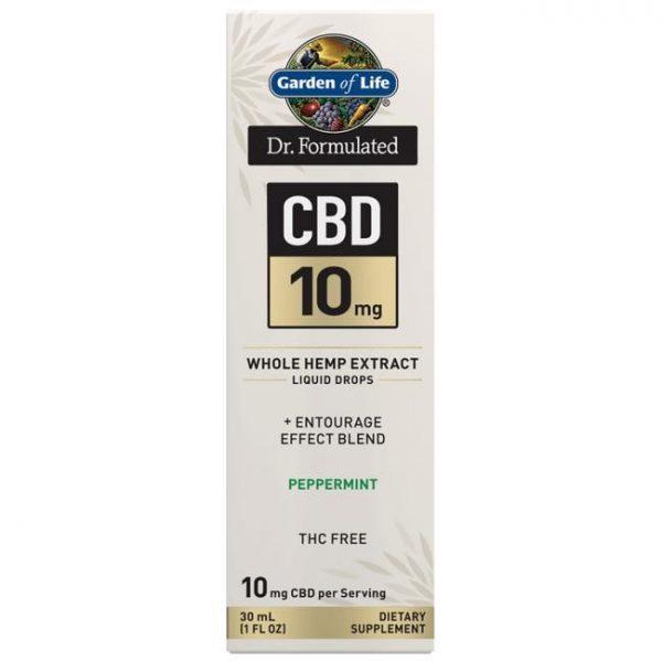 Garden of Life Dr. Formulated Cbd - Peppermint 10 mg 1 fl oz Liquid
