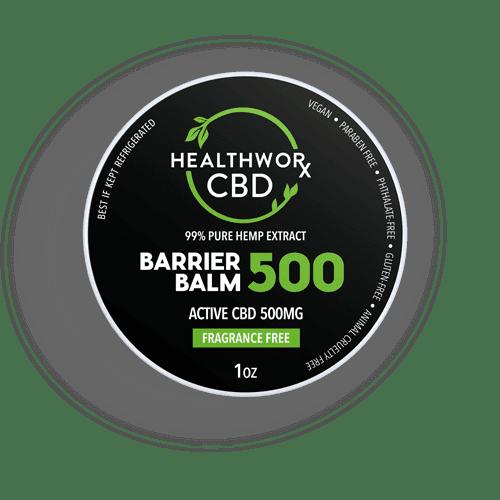 Healthworx CBD 500MG CBD BARRIER BALM
