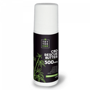 Try the CBD 500MG CBD RESCUE BUTTER