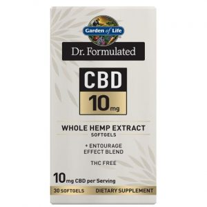 Garden of Life Dr. Formulated Cbd 10 mg 30 Soft Gels