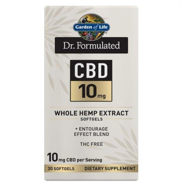 Garden of Life Dr. Formulated Cbd 10 mg 30 Soft Gels