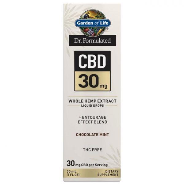 Garden of Life Dr. Formulated Cbd - Chocolate Mint 30 mg 1 fl oz Liquid