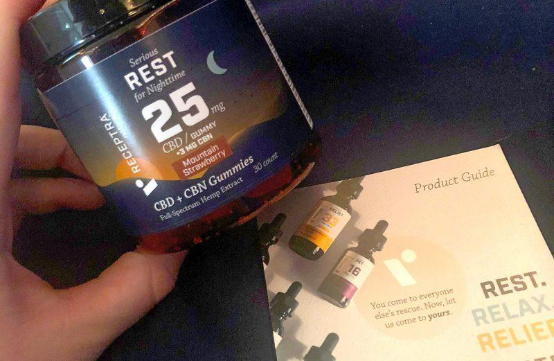 Receptra Naturals Serious Rest Gummies Review: CBD Gummies for Sleep