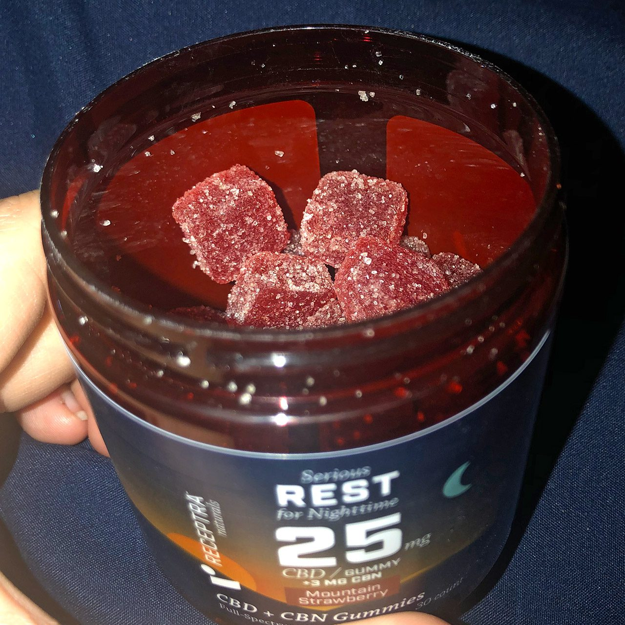 Receptra Naturals Serious Rest Gummies Review: CBD Gummies for Sleep