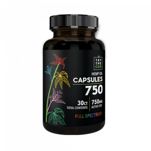 Try the CBD CBD Capsules 30ct FULL SPECTRUM
