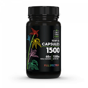 Try the CBD CBD Capsules 60ct FULL SPECTRUM