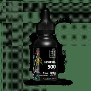 Try the CBD FULL SPECTRUM 500MG CBD TINCTURE