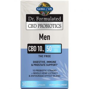 Garden of Life Dr. Formulated Cbd Probiotics Men 30 Veg Caps