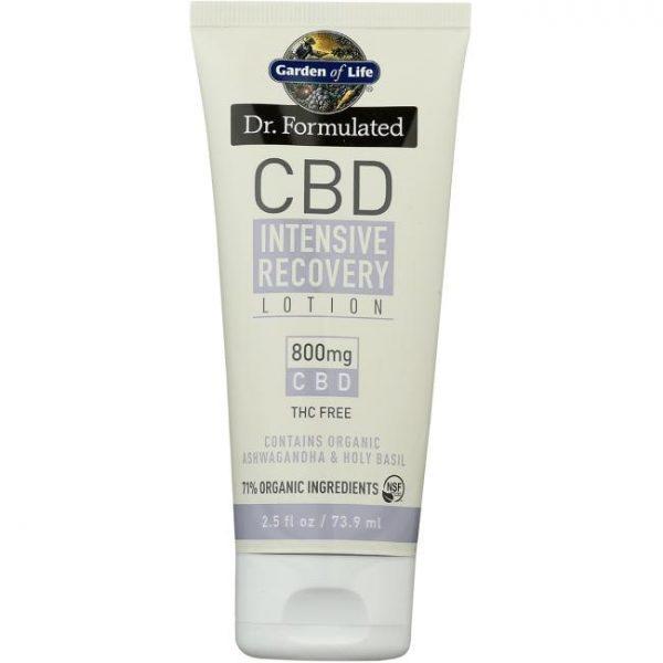 Garden of Life Dr. Formulated Cbd 800 mg 2.5 oz Cream