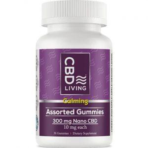 CBD Living Cbd Gummies - Assorted 10 mg 30 Gummies