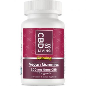 CBD Living Cbd Gummies - Vegan 10 mg 30 Gummies