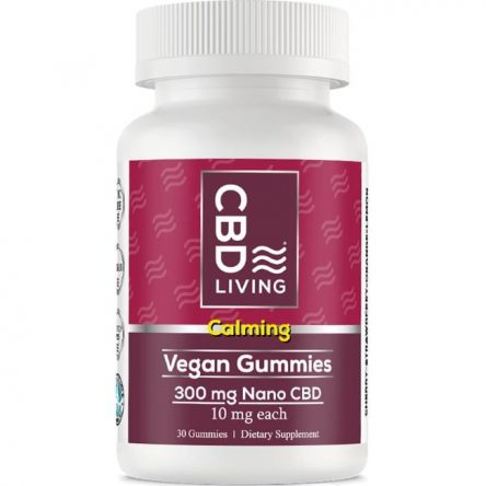CBD Living Cbd Gummies – Vegan 10 mg 30 Gummies