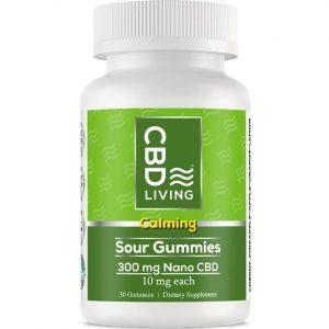 CBD Living Cbd Gummy - Sour Gummies 10 mg 30 Gummies