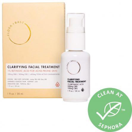 Flora + Bast Clarifying Facial Treatment 1.0 oz/ 30 mL