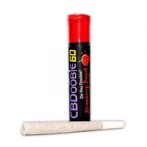 CBDoobie Pre-Rolled Herbal Mix - Strawberry Diesel (Buy More & Save!)