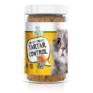MediPets CBD Cat Treats - Cat Cafe' Tartar Control - 100mg