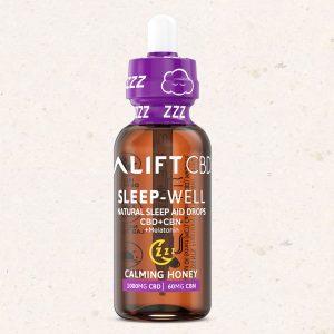 Lift CBD Calming Honey Sleep Drops - 1000 mg or 1500mg per Bottle