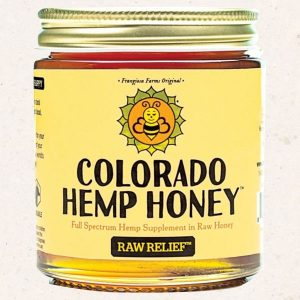Colorado Hemp CBD Honey -- 15mg Single Serving Stick or 500mg Jar