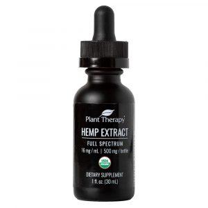 Organic Hemp Extract Full Spectrum Unflavored 500 mg