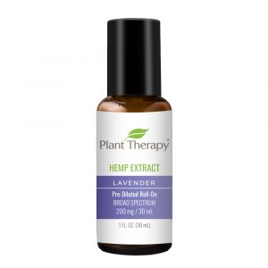 Hemp Extract Lavender Pre-Diluted Roll-On 200 mg