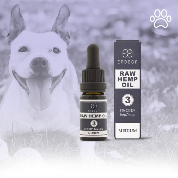 RAW CBD OIL FOR DOGS 30MG/ML CBD+CBDa