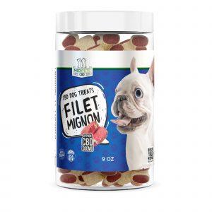 MediPets CBD Dog Treats - Filet Mignon - 300mg