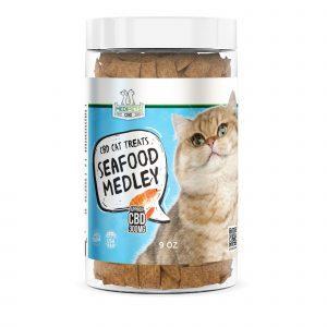 MediPets CBD Cat Treats - Seafood Medley - 300mg