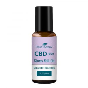 Plant Therapy CBD +iso Stress Roll-On 500 mg CBD | 100 mg CBG