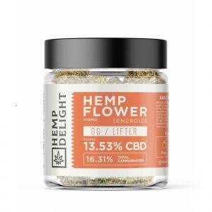 Hemp Delight - Hemp Flower OG/Lifter - 7gm