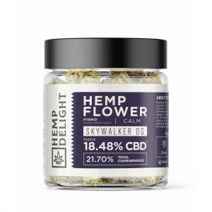 Hemp Delight - Hemp Flower (Cuban Smack - Skywalker OG) - 7gm