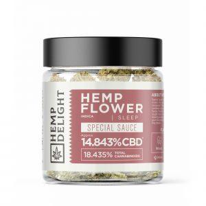 Hemp Delight Hemp Flower - Special Sauce (AJ) - 7gm