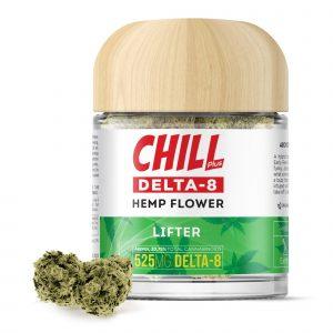 Chill Plus Delta-8 Hemp Flower - Lifter - 525mg