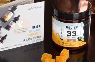 Receptra Naturals Serious Relief CBD Gummies Review