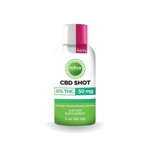 Reliva CBD Wellness Recovery Shot 50mg (60ml bottle)