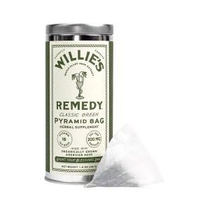 Willies Remedy CBD Tea Bags - Classic Green 200mg 16 Count