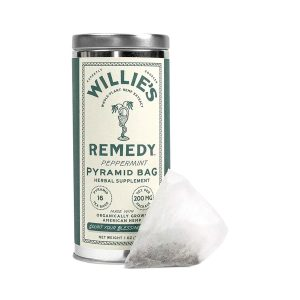 Willies Remedy CBD Tea Bags - Peppermint 200mg 16 Count